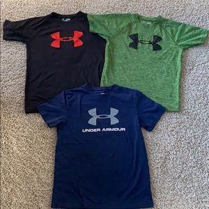 Under Armour Shirt Bundle- Boys Medium!